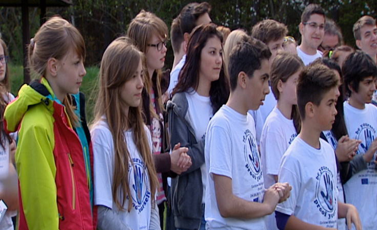 Uczniowie z 6 krajów wspólnie rozwijali sportowe pasje