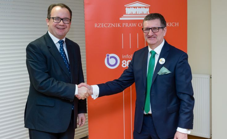 Adam Bodnar i  Marek Wysocki (fot. PAP/Jan Karwowski)