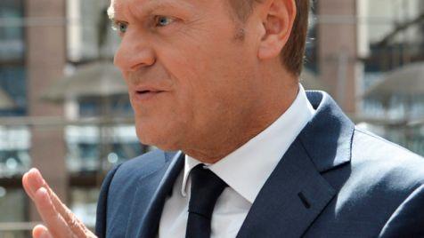 Donald Tusk (fot. PAP/EPA/STEPHANIE LECOCQ)