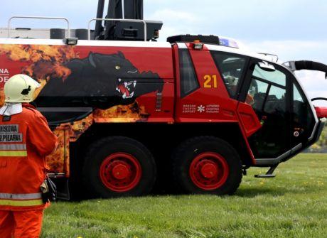 Pokazy Lotniskowej Straży Pożarnej
