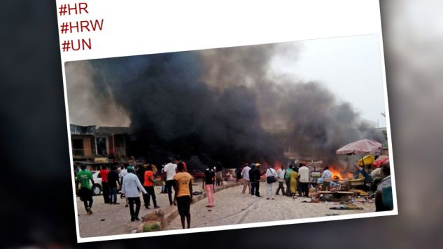 Nigeryjskie władze po raz pierwszy przyznały się do omyłkowego ataku (fot. TT/Alghadeer English)
