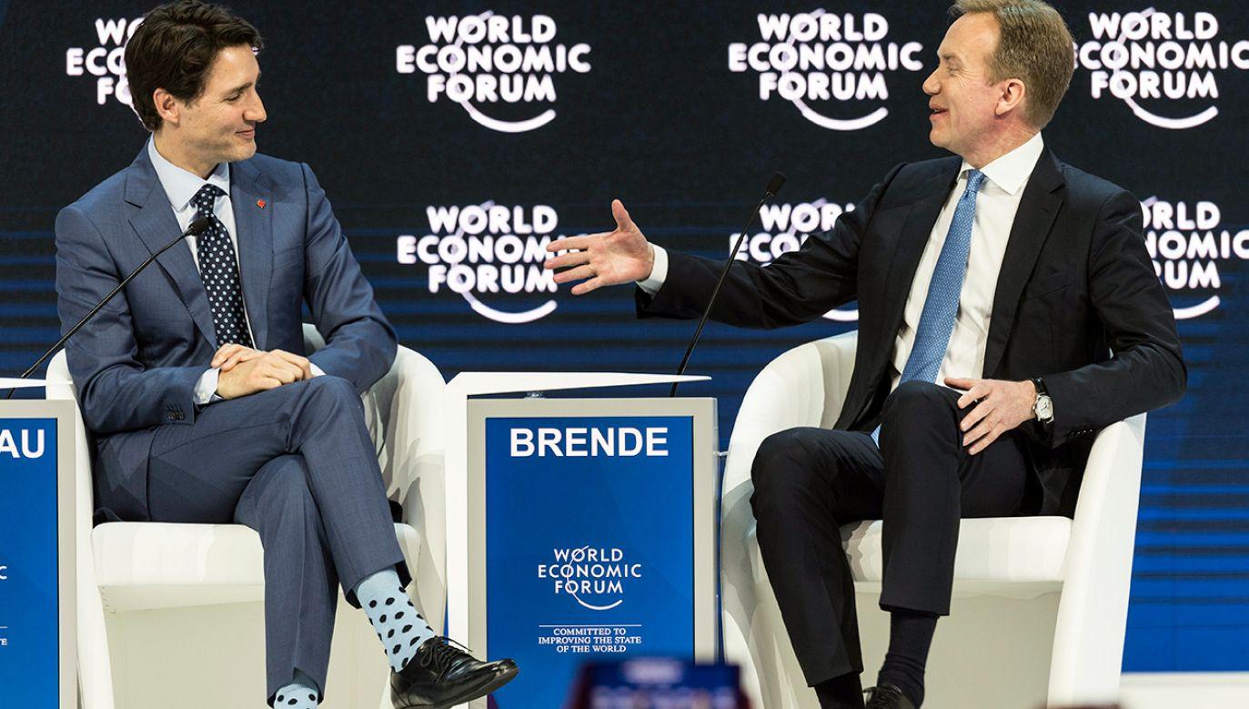 48. Światowe Forum Ekonomiczne potrwa do piątku (fot. PAP/EPA/LAURENT GILLIERON)