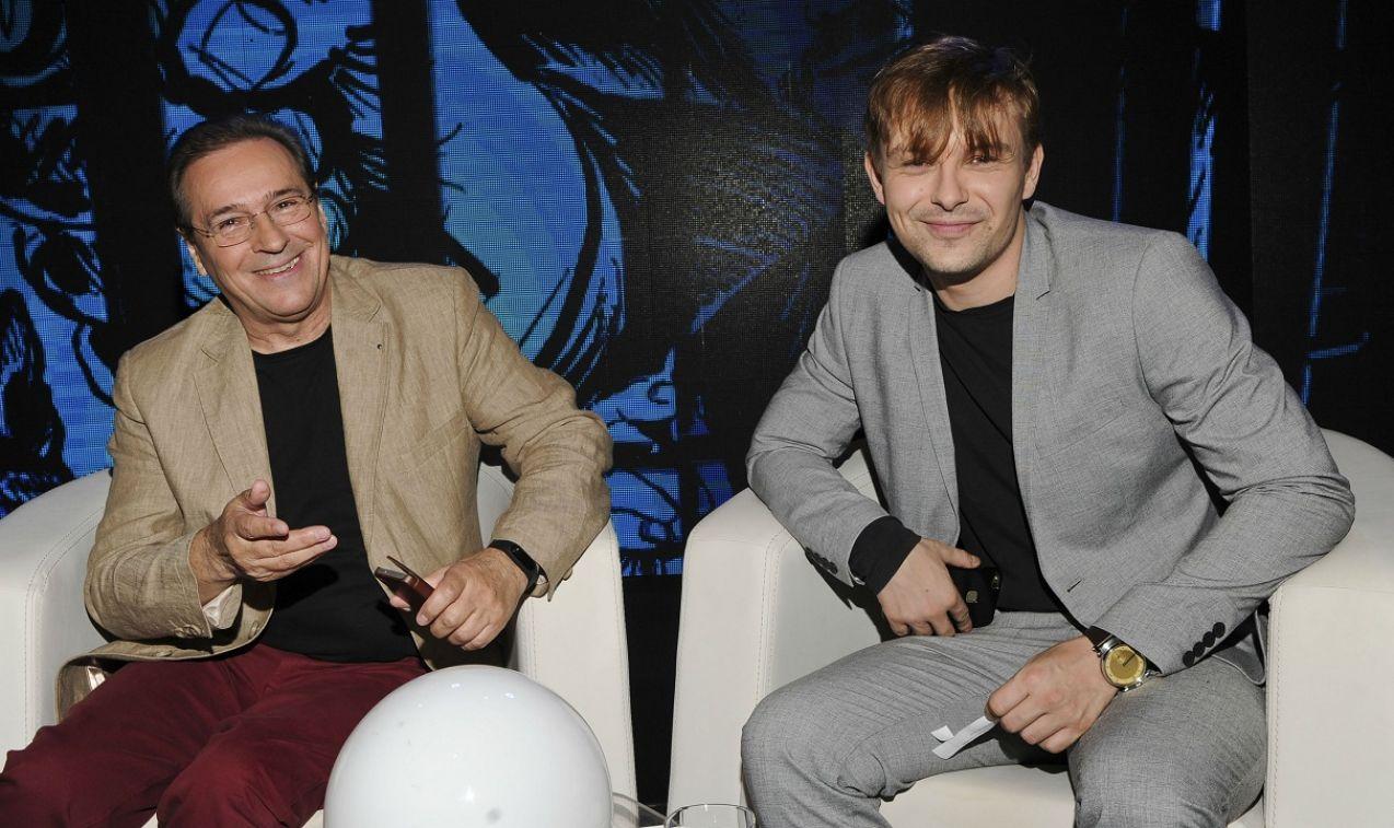 Jan Peczek i Marek Molak byli równie dobrze przygotowani (fot. Natasza Młudzik/TVP)