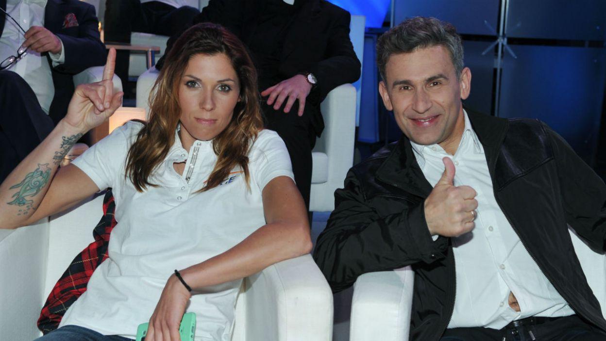 Jak sportowy duet Zosi Klepackiej i Roberta Korzeniowskiego poradził sobie z wyzwaniem? (fot. TVP/K.Kurek)