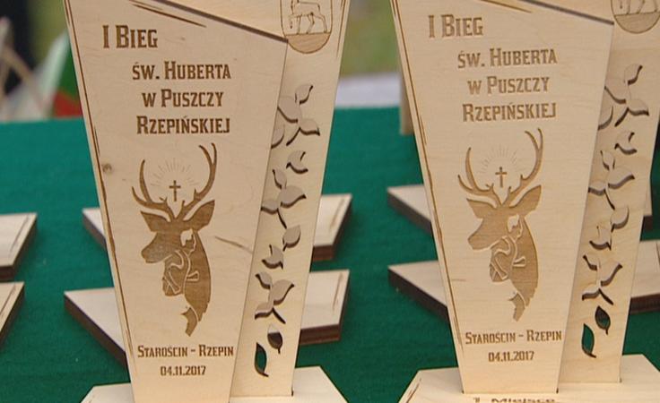 Leśnicy i sportowcy uczcili pamięć swojego patrona