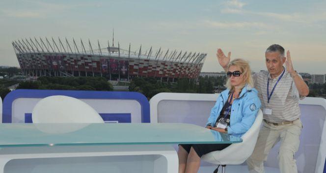 Ostatnie przymiarki przed wejściem na antenę (fot. TVP/I. Sobieszczuk)