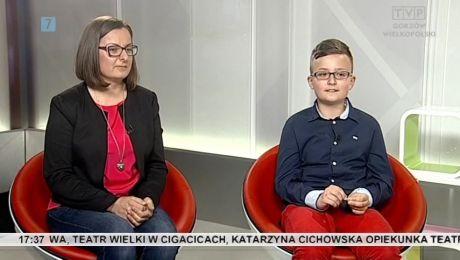 22.05.2015, Rady Szymona Niegłosa, który 01.06.2014 poprowadził Informacje Lubuskie: Sz. Niegłos, I. Byczek-Pawlak, A. Sendecka
