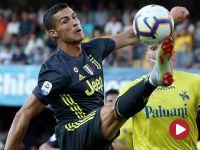 Debiut Ronaldo w Serie A, gol Stępińskiego [wideo]