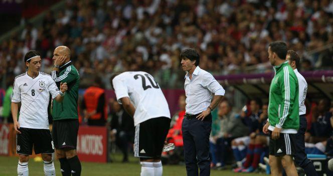 NIe pomagały wskazówki trenera Loewa (fot. Getty Images)