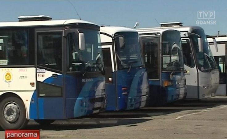 Słupski PKS zawiesił latem kilkadziesiąt połączeń