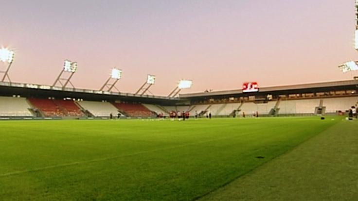 Stadion Cracovii (fot. TVP3 Kraków)