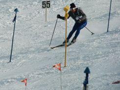 Jean-Claude Killy w Grenoble zdobył trzy złote medale w konkurencjach alpejskich (fot. Getty Images)