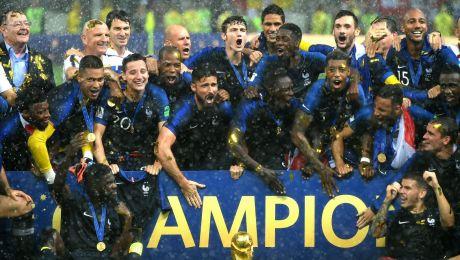 Radość piłkarzy Francji (fot. Getty Images)