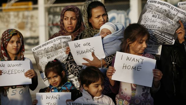 Niemcy przyjęli już ponad milion uchodźców (fot. EPA/YANNIS KOLESIDIS)