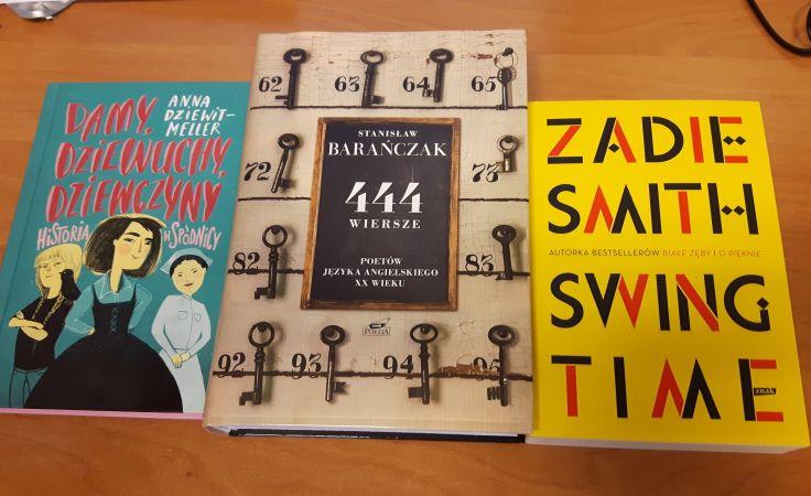 Te książki można m.in. zdobyć w konkursie