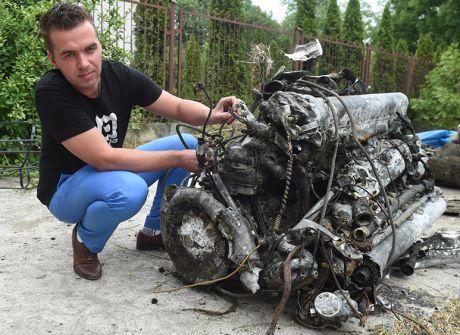 W Bzurze znaleziono wrak samolotu z II wojny światowej
