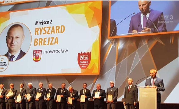 R. Brejza drugim najlepszym prezydentem w Polsce