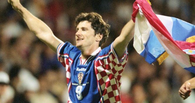 Liderem Chorwatów był Davor Suker (fot. Getty Images)