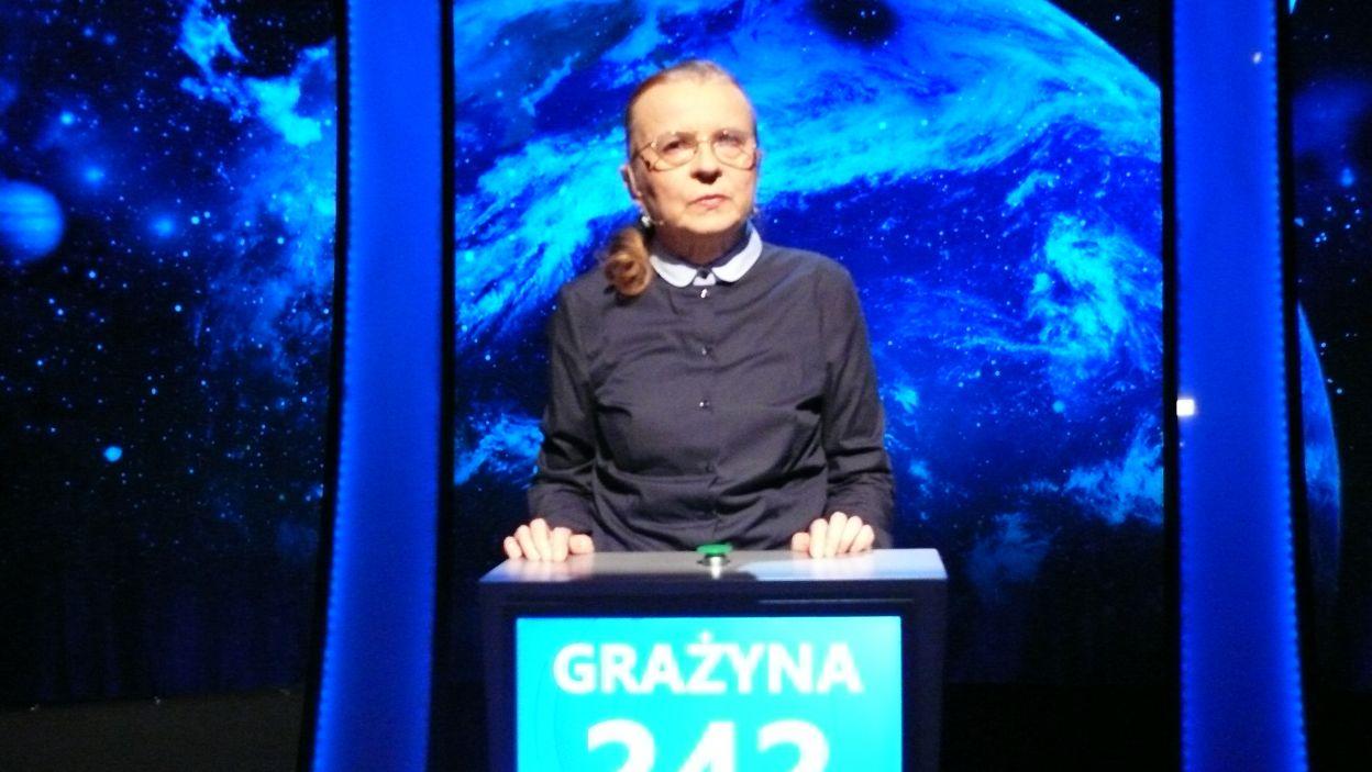 Grażyna Klimowicz-Bożko - zwyciężczyni 16 odcinka 103 edycji