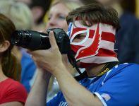 Na trybunach gościli niecodzienni kibice (fot.Getty Images)