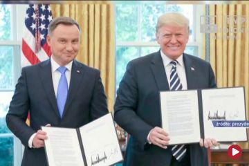 Polskie i światowe echa spotkania Duda - Trump
