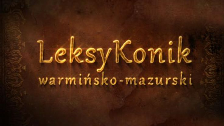 LeksyKonik warmińsko-mazurski