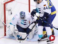 Hokej, Puchar Świata, 1/2 finału: Szwecja – Europa (skrót)