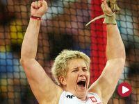 Anita Włodarczyk ze złotym medalem w Pekinie. Polka pobiła rekord mistrzostw świata. Młot poleciał na odległość 80,85 m