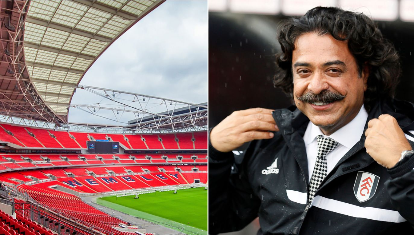 Ofertę kupna Wembley złożył Shahid Khan (fot. Shutterstock/Andrew Barke/REUTERS/Stefan Wermuth)