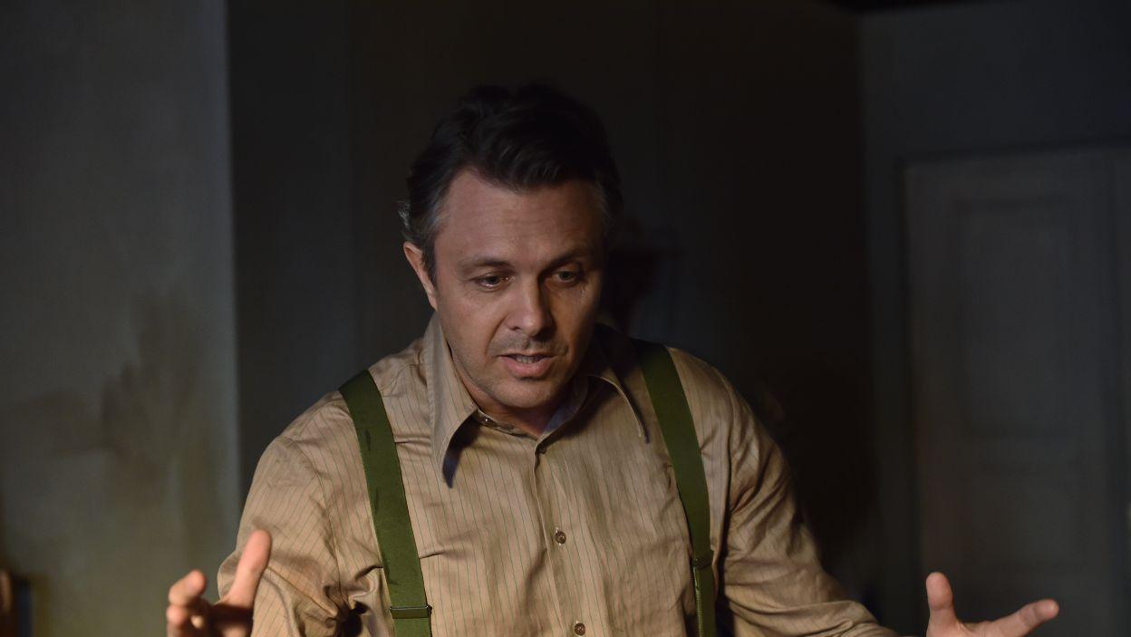 Małgorzacie Kożuchowskiej partnerują wybitni aktorzy m.in. Marek Bukowski  (fot. I. Sobieszczuk\TVP)