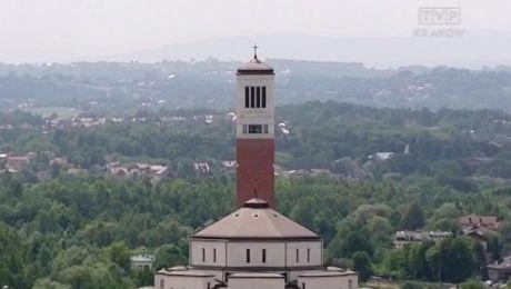 Sanktuarium św. Jana Pawła II w Krakowie (fot. TVP3 Kraków)