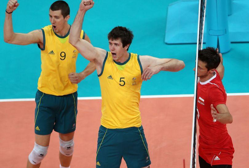 Australijczycy zdobywają kolejny punkt (fot. Getty Images)