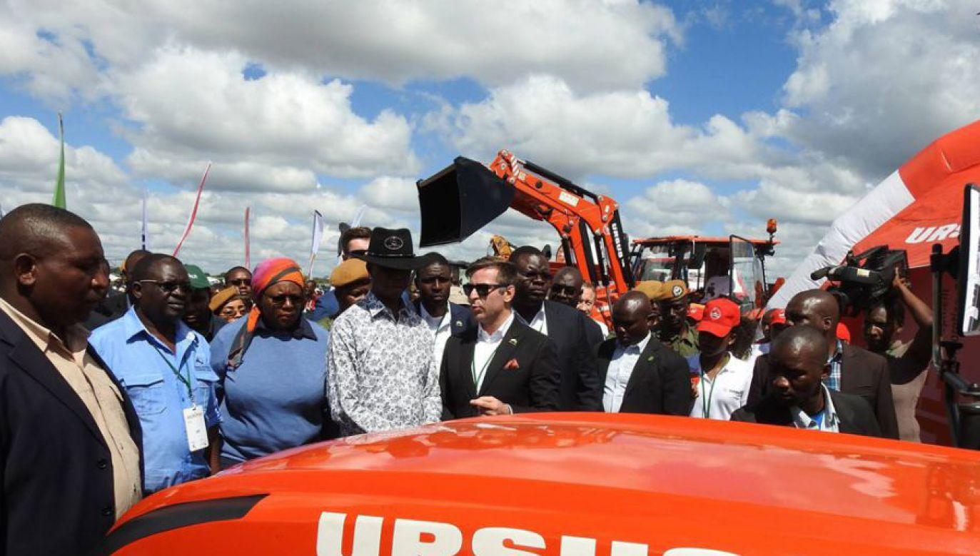 Ursus podpisał w Afryce kilka kontraktów, ostatni w Zambii (fot. facebook.com/URSUS)