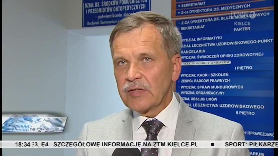 Leszek Lepiarz, dyrektor Szpitala w Skarżysku-Kamiennej