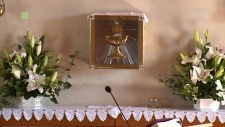 19.08.2017, Parafira pw. św. Józefa Rzemieślnika w Wawrowie. Dożynki diecezjalne. Słowo na niedzielę