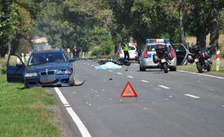 Tragedie na drodze w upalny ostatni weekend wakacji