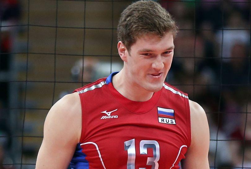 Dmitrij Muserskij, środkowy reprezentacji Rosji (fot. Getty Images)