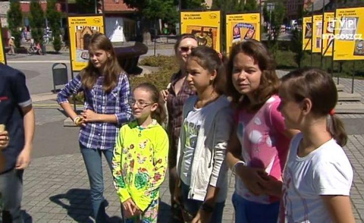 Dzieci z Ukrainy i Kazachstanu bawią się u nas świetnie