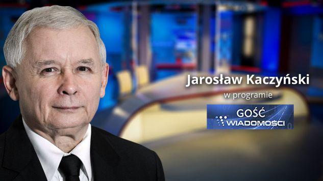 Były premier, prezes PiS Jarosław Kaczyński spotka się z dziennikarzem TVP (fot.tvp.info)