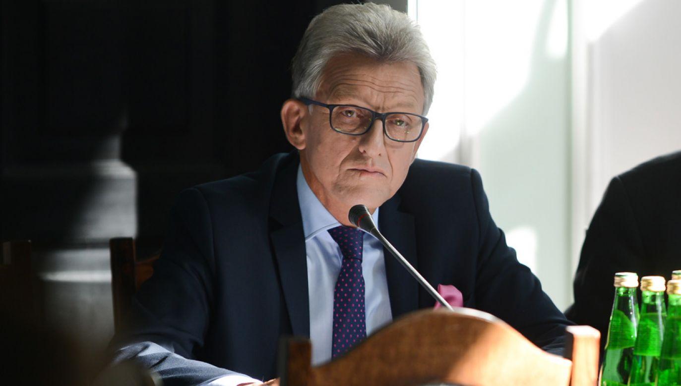 Stanisław Piotrowicz obawia się reakcji opozycji (fot. arch.PAP/Jakub Kamiński