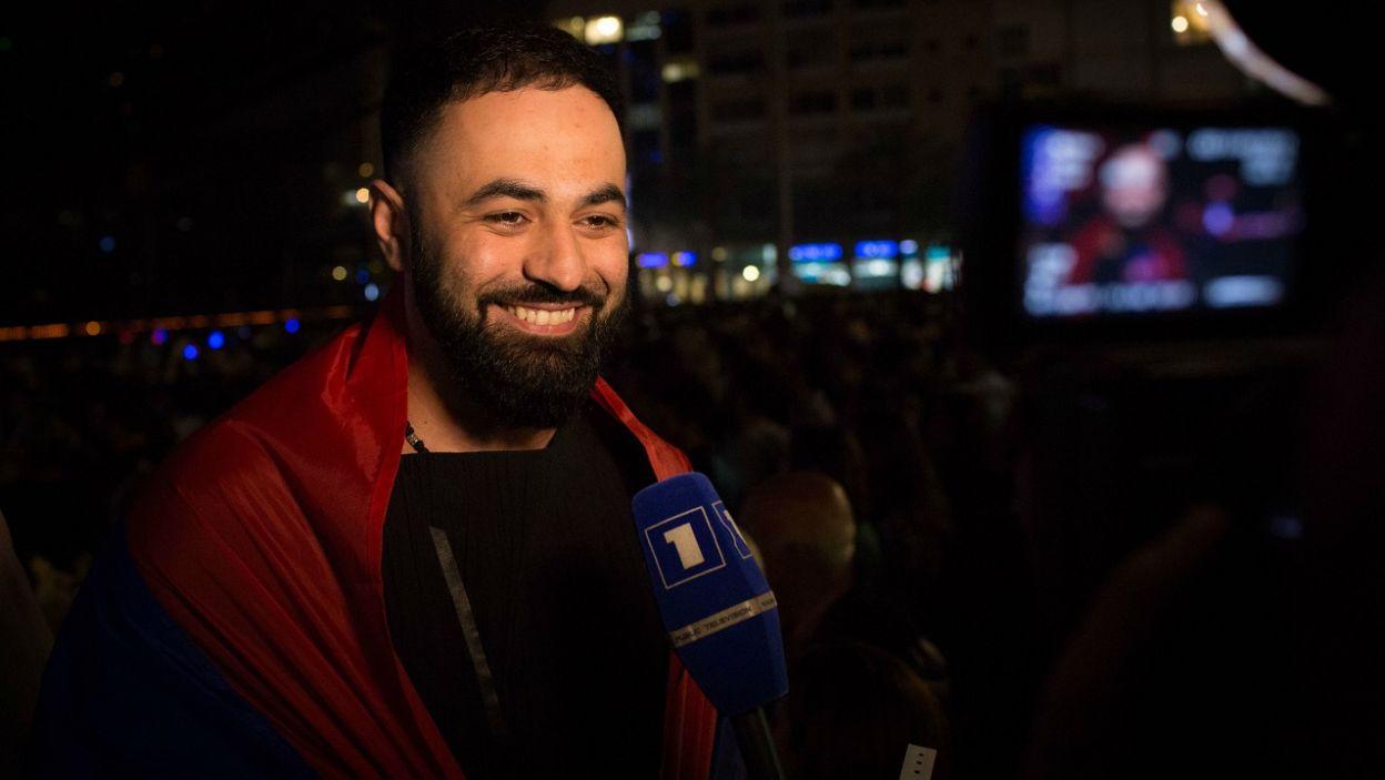 """Armenia: Sevak Khanagyan startował w """"The Voice of Armenia"""" i wygrał ukraińską edycję """"X-Factora"""". Teraz jest jurorem """"The Voice"""" (fot. Stijn Smulders)"""