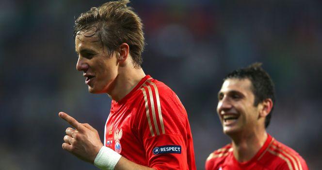 Roman Pawliuczenko kilka minut po pojawieniu się na boisku strzelił cudowną bramkę (fot. Getty Images)