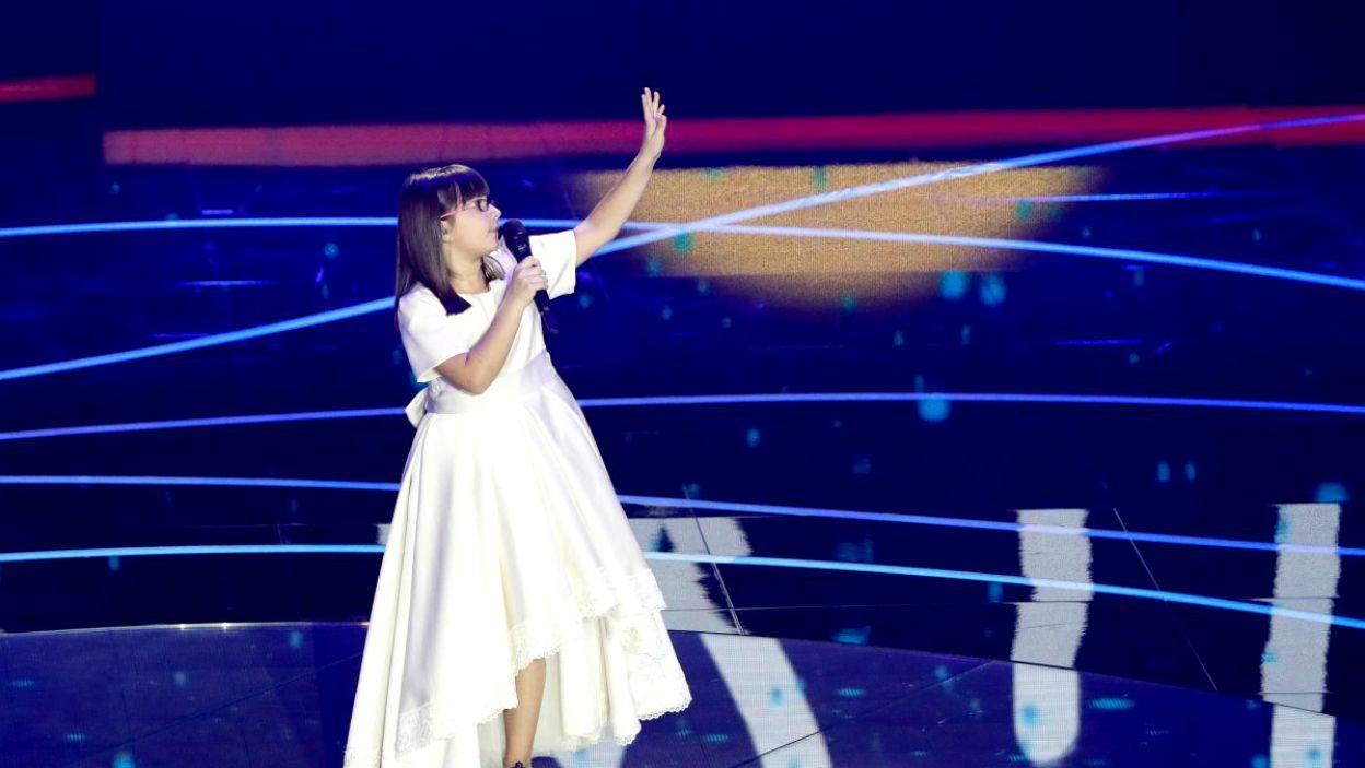 Klesta Qehaja z Albanii wykonała piękną piosenkę z przesłaniem (fot. Andres Putting/EBU)