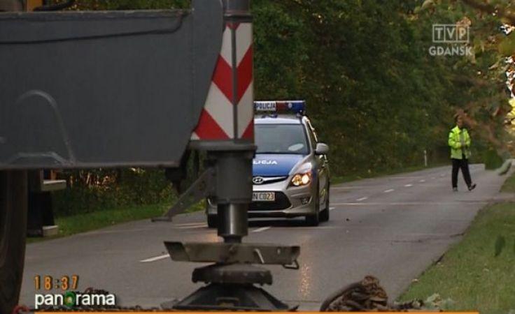 Wypadek sparaliżował trasę na Wejherowo