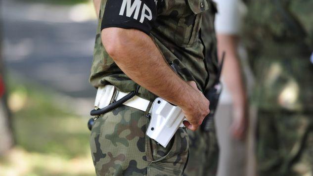 Ciało oficera SKW odkryto w Mińsku Mazowieckim (fot. TVP/Marcin Sochacki)