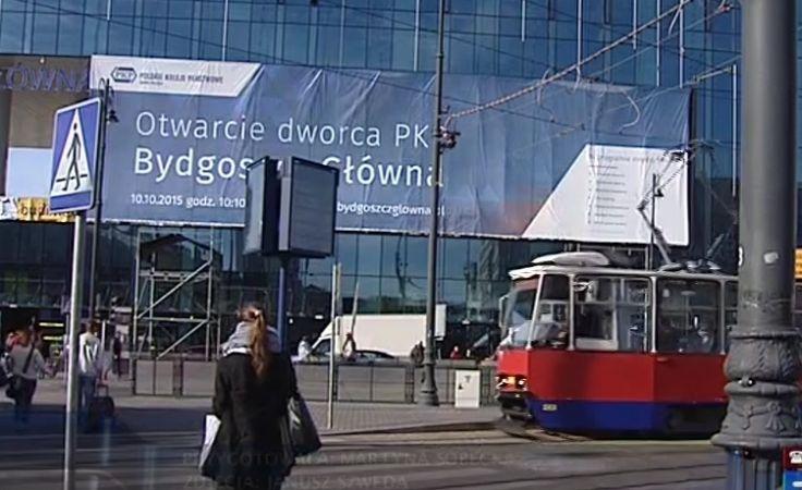 Moc atrakcji na otwarcie dworca kolejowego Bydgoszcz Gł.