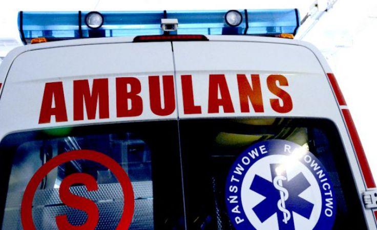 W ambulansie nie było żadnego pacjenta