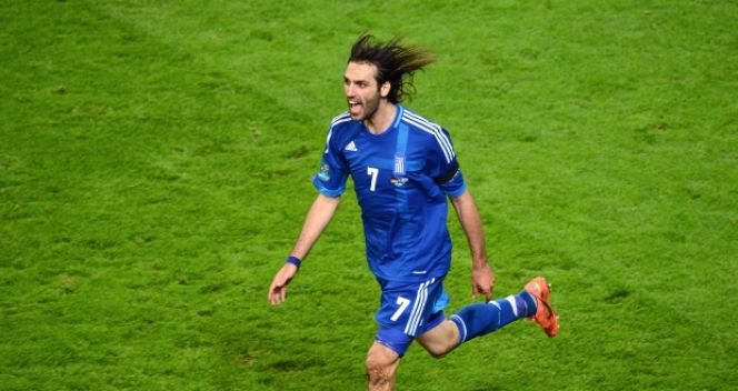 Giorgos Samaras (fot. Getty Images)