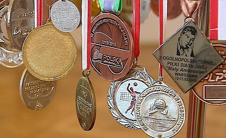 Wystawa poświęcona historii polskiej siatkówki