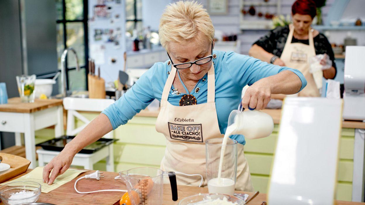 Elżbieta stara się robić wszystko bardzo dokładnie (fot. TVP)